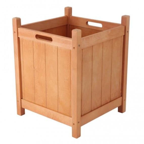 Bac en bois naturel - 1