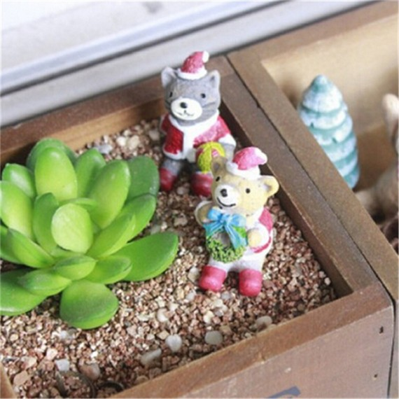 Love square flowerpot - 2