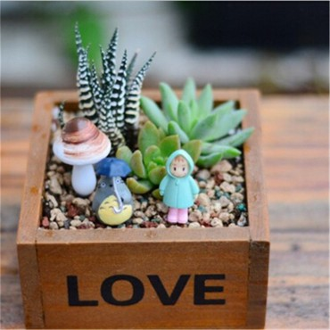 Love square flowerpot - 3