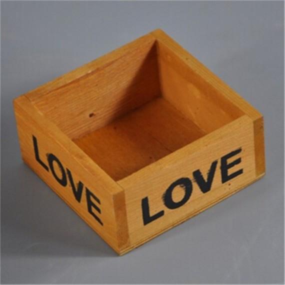 Love square flowerpot - 5