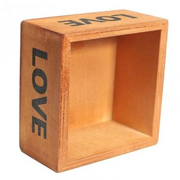Love square flowerpot - 6