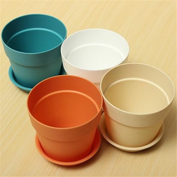Pot pastel coloré - 4