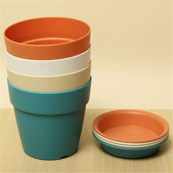 Pot pastel coloré - 5