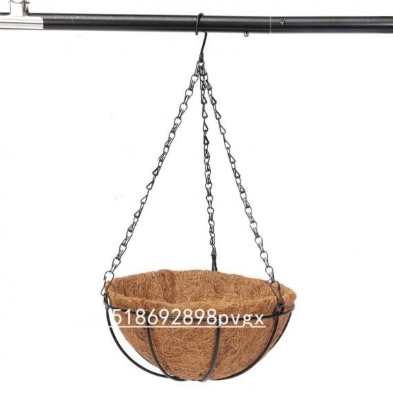 Moitié de coco suspendue - pot de pleur - 3