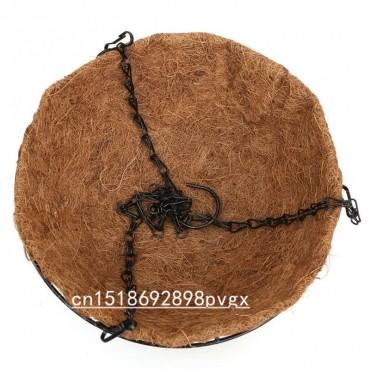 Moitié de coco suspendue - pot de pleur - 4