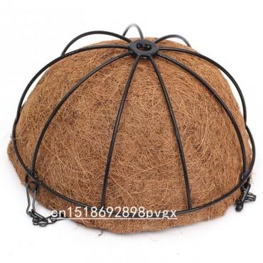 Moitié de coco suspendue - pot de pleur - 5