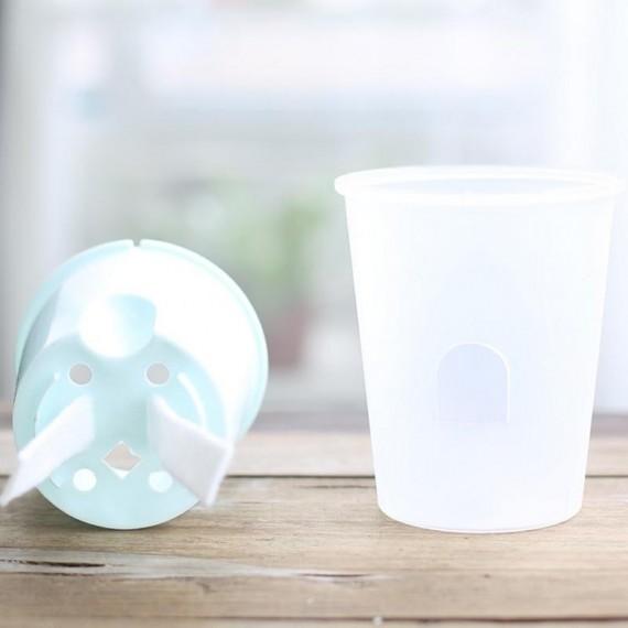 Pot en plastique avec système d'arrosage automatique - 3