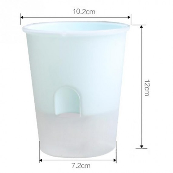 Plastic pot with automatic watering system - 5