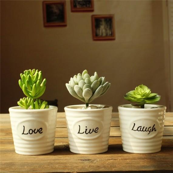 Pots Love, live, laugh - 1