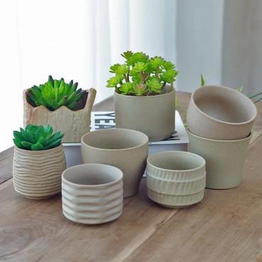 Cache-pot en céramique - 1