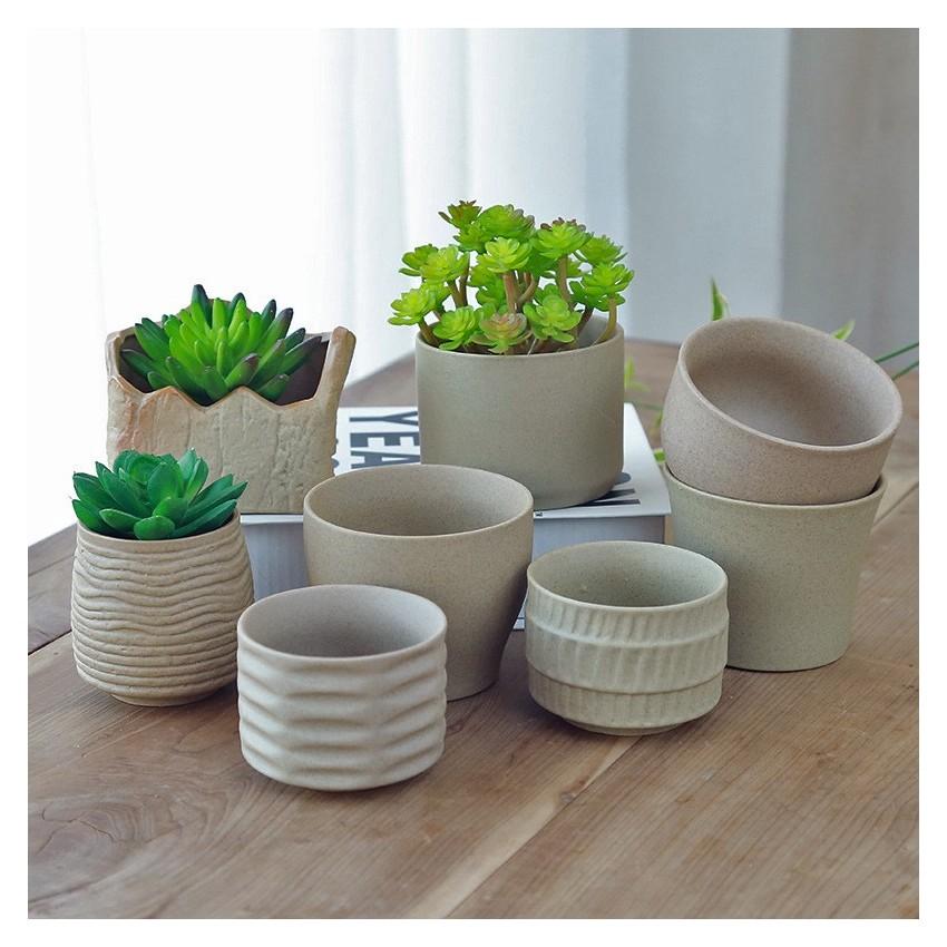 Ceramic flowerpot - 1