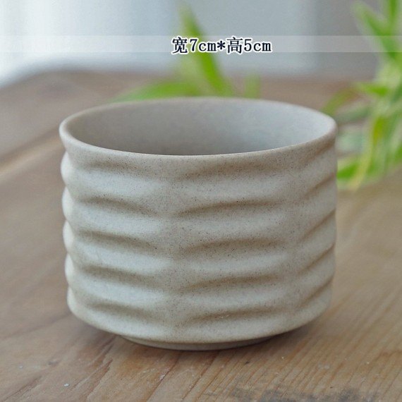 Ceramic flowerpot - 5