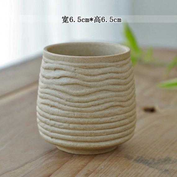 Ceramic flowerpot - 6