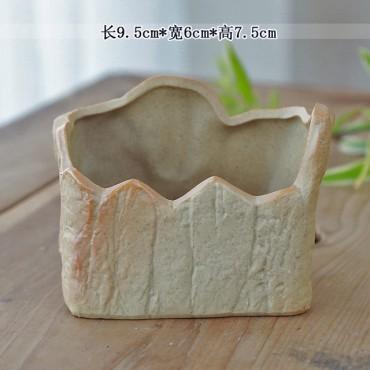 Ceramic flowerpot - 7