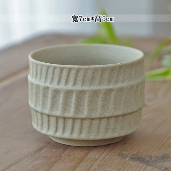 Ceramic flowerpot - 8