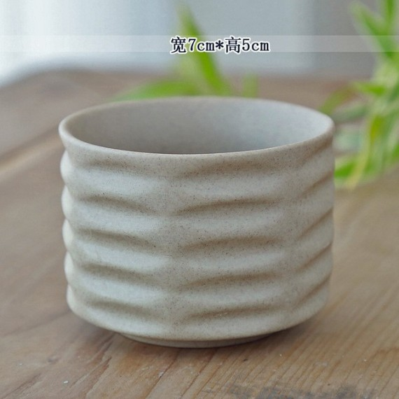 Ceramic flowerpot - 9