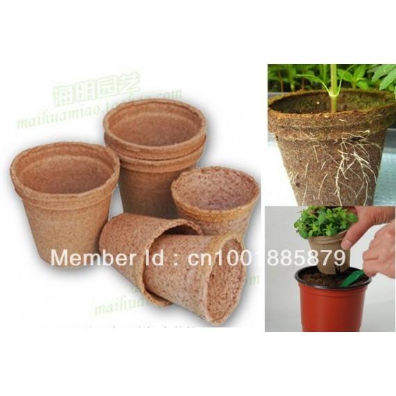 20 biodegradable pots - 1