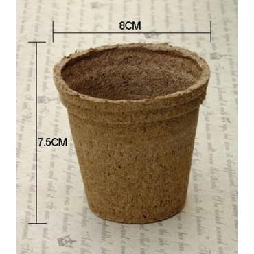 20 biodegradable pots - 2