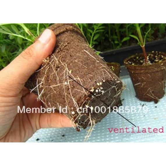 20 pots biodégradable - 4