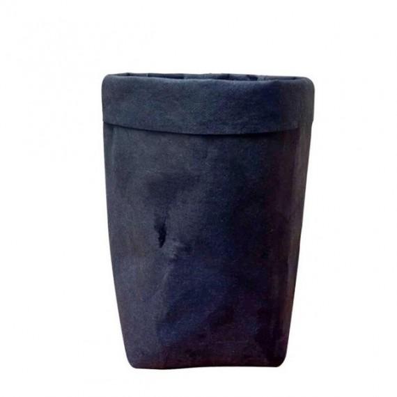 Cache-pot sac en papier lavable - 7 couleurs - 7