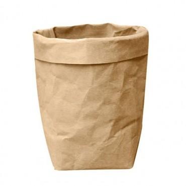 Washable paper bag plant pot - 7 colors - 8