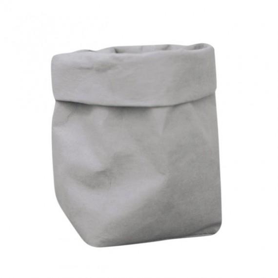 Cache-pot sac en papier lavable - 7 couleurs - 10