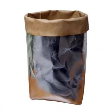 Washable paper bag plant pot - 7 colors - 12