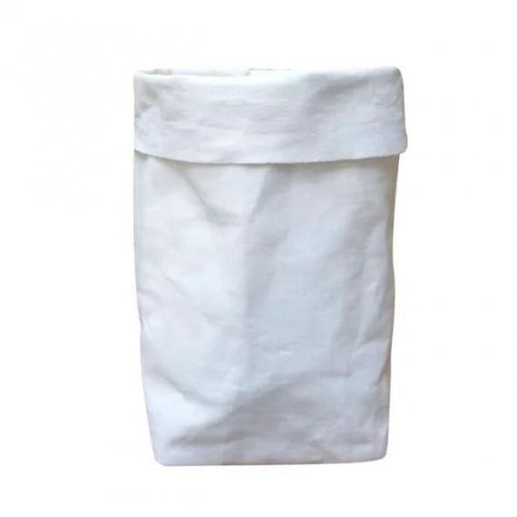 Cache-pot sac en papier lavable - 7 couleurs - 13