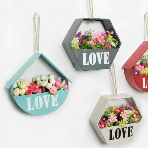 Pot de fleur suspendus Love - 1