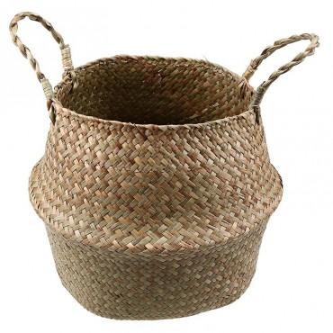 Color foldable wicker basket - 5