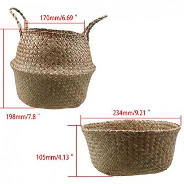 Color foldable wicker basket - 7