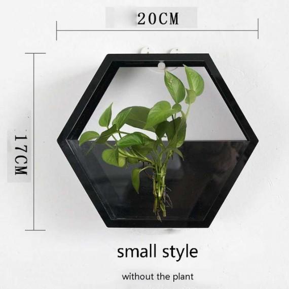 Pot mural avec vitre transparente - 10