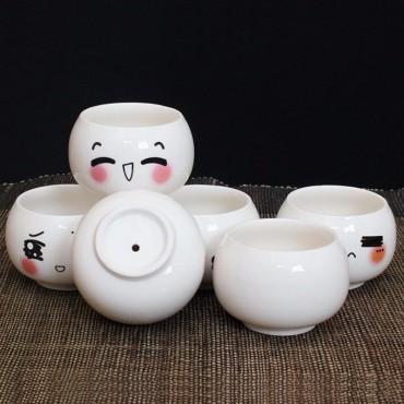 """Pots """"expression de visage"""" - 3"""
