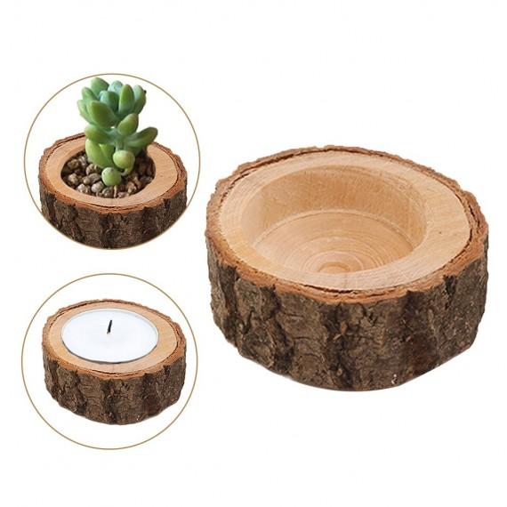 Pot tronc d'arbre - 1