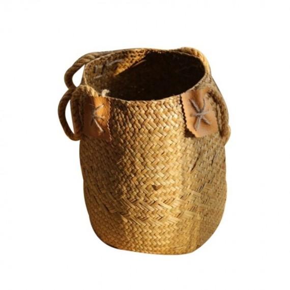 Large bohemian wicker basket - 10