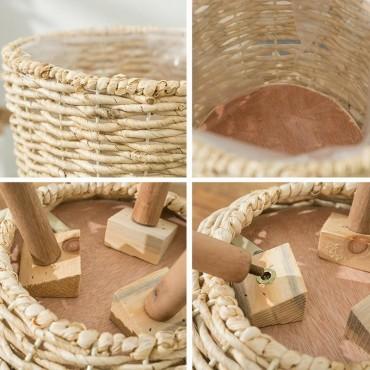 Basket pot on stand - 5