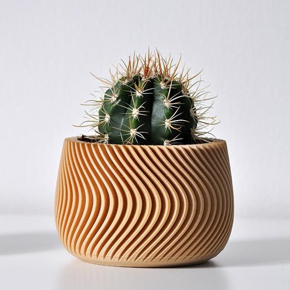 "Pot ""Waves"" - 1"