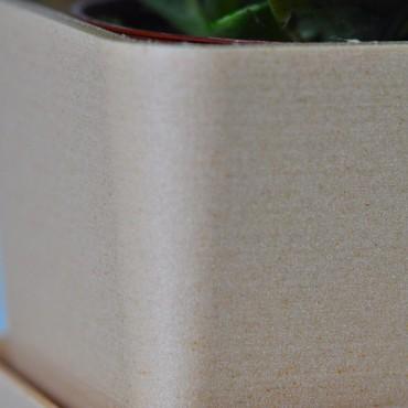 Single square pot - 2