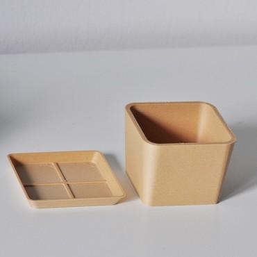 Single square pot - 4