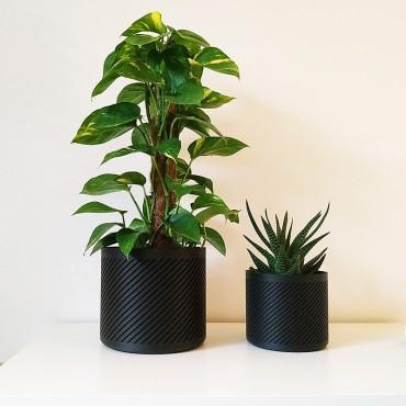Pot de fleurs contemporain - 2