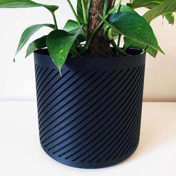 Pot de fleurs contemporain - 3