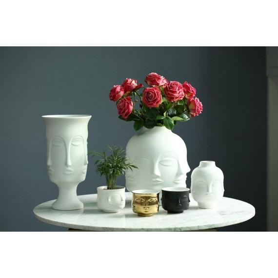 Handmade multi-faceted flowerpot - 2