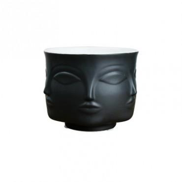 Handmade multi-faceted flowerpot - 7