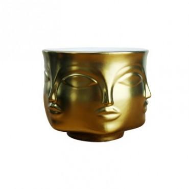 Handmade multi-faceted flowerpot - 8