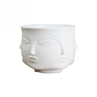 Handmade multi-faceted flowerpot - 9
