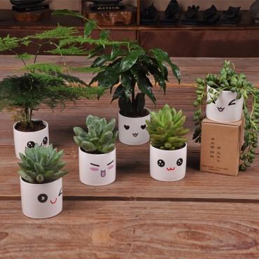 Cute ceramic pot kawaii - 1