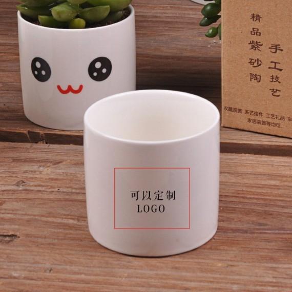 Cute ceramic pot kawaii - 4