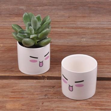 Cute ceramic pot kawaii - 8