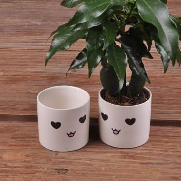 Cute ceramic pot kawaii - 9