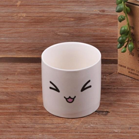 Cute ceramic pot kawaii - 10